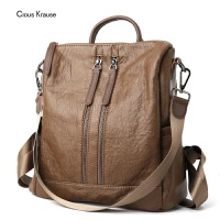 【1件3折,到手价:140.7元】Clous Krause CK女包时尚简约百变手提单肩双肩 多用背包