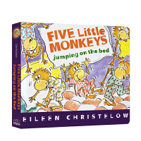 Five Little Monkeys Jumping on the Bed 五只小猴子床上蹦蹦跳 Eileen Ch