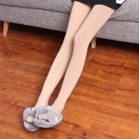 肉色肤色丝袜春秋毛圈保暖加绒加厚连裤袜子瘦腿袜打底裤女