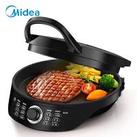 Midea/美的 电饼铛 家用 双面加热 悬浮烤盘 多功能 煎烤机 JK30Easy201