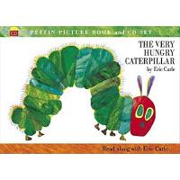 【现货】英文原版 The Very Hungry Caterpillar (Book & CD) 《好饿的毛毛虫》(含