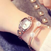 艾奇 金米欧新款石英表镶钻水钻手链潮流简约时尚韩版女表学生腕表560