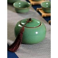 茶叶罐陶瓷玻璃铁盒茶具