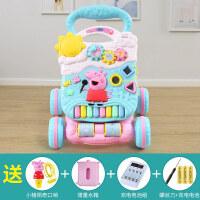婴儿童学步车手推车助步宝宝学走路推车多功能防侧翻玩具