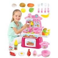 儿童过家家厨房玩具女孩做饭煮饭仿真厨具餐具套装烧饭炒菜3-6岁