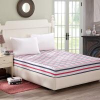 伊迪梦家纺 纯棉床笠单件 精选优质全棉 高支高密活性印染 床垫保护罩套单人双人床HC321