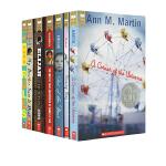 英文原版小说 Scholastic Award Fiction 学乐纽伯瑞文学奖 4册 Out of the Dust