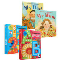 英文原版 My Dad My Mum 平装我爸妈家庭情商亲情My Awesome Alphabet Book/coun