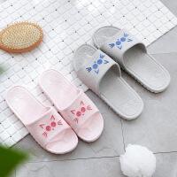物有物语 拖鞋 居家浴室洗澡拖鞋女夏室内情侣可爱软底地板凉拖家居拖鞋地毯拖鞋