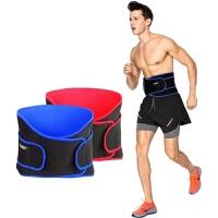 运动护腰带男篮球护具健身跑步腰带夏季训练束腰收腹带女护腰装备