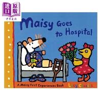 【中商原版】小鼠波波系列 Maisy Goes to Hospital 小鼠波波去医院 低幼早教启蒙认知绘本 平装 英文