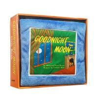 英文原版正版绘本 Goodnight Moon 晚安月亮 Cloth Book 宝宝触摸布书启蒙玩具趣味亲子低幼感知早