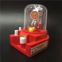 抖音同款爆迷你抓娃娃机抓糖球抓捕糖果扭蛋机儿童小游戏益智玩具