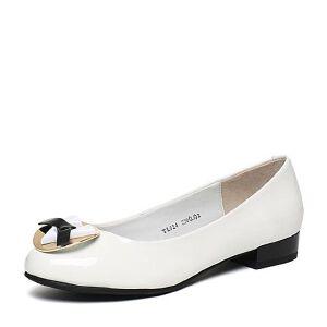 BASTO/百思图春季专柜同款牛皮女单鞋TL824AQ6
