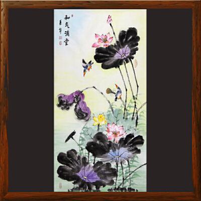 《和气满堂》张一娜-中国女工笔画协会委员R2496