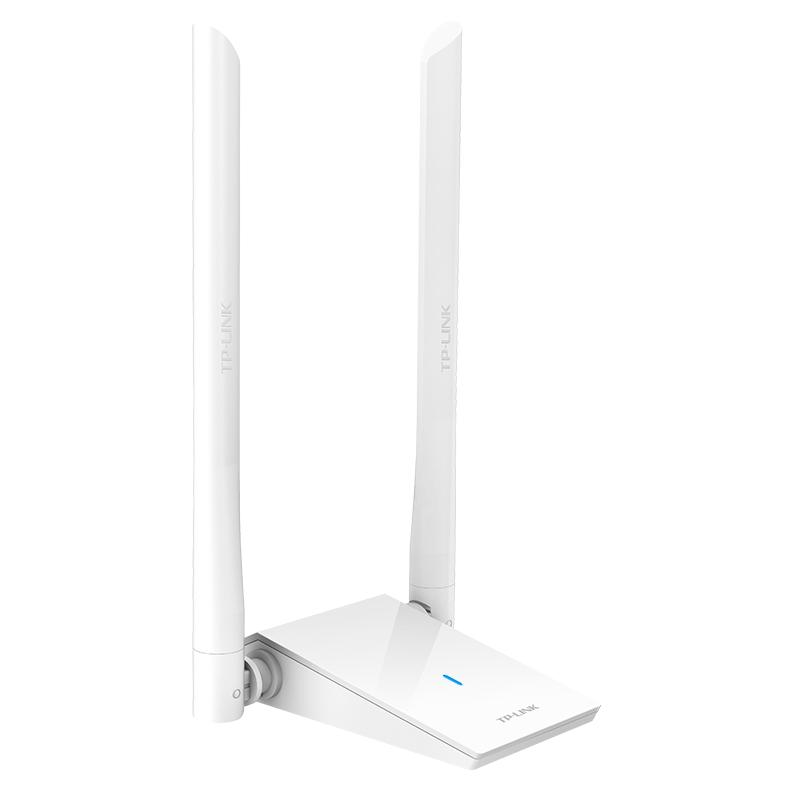 TP-Link TL-WDN6200H 双频usb无线网卡 外置双天线千兆5G随身WIFI台式电脑笔记本接收器1200M 外置双天线带延长线 USB3.0接口 支持模拟AP