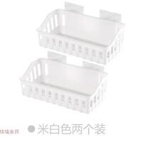 免打孔浴室置物架收纳篮卫生间用品厕所塑料壁挂架子整理架洗漱架