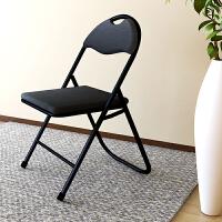 [当当自营]慧乐家 电脑椅 简约时尚折叠椅简易便携会议椅 黑色 FNBJ-22087