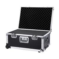 超大号加强型拉杆工具箱加厚铝合金箱仪器箱维修五金收纳箱航空箱