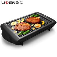 【�Y品卡可用】利仁(Liven)KL-J4500 �烤�t 家用��烤�t 不粘烤肉� 煎肉煎烤�P