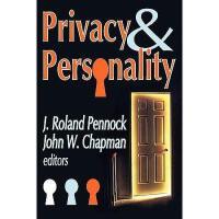 【预订】Privacy & Personality