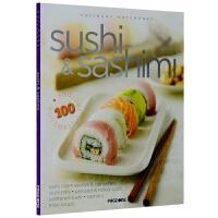 sushi & sashimi 寿司和生鱼片 日本食物食材料理制作教程 英文原版