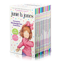 英文原版书Junie B. Jones Complete Kindergarten Collection 17册 初级