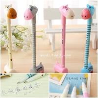 创意文具学生礼品奖品 动物造型创意小毛驴中性笔圆珠笔 用品