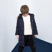 【2件4折:279】巴拉巴拉旗下巴帝巴帝男童时尚休闲羽绒服