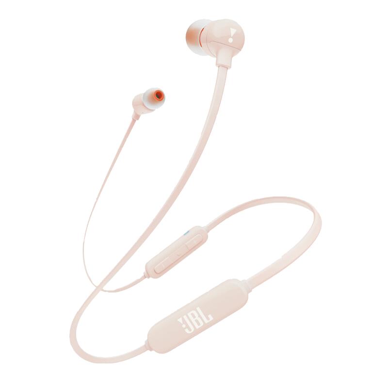 JBL T110BT 粉色 无线蓝牙 入耳式耳机 运动耳机 手机耳机 游戏耳机买JBL耳机,享当当,悦动生活!