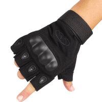特种兵战术手套 防滑防割格斗半指健身手套 男士骑行手套户外登山旅游用品