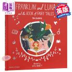 【中商原版】Katie Harnett:富兰克林的童话 Franklin and Luna 绘本故事书 低幼童书 亲子