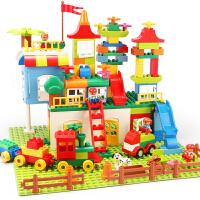 儿童积木拼装玩具智力6-7-8-10岁男孩塑料拼插1-2-3-4周岁女宝宝