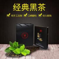 天然金花茯砖安化黑茶连心岭茶叶700g特惠装