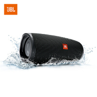 【当当自营】JBL Charge4 黑色 音乐冲击波4 蓝牙小音箱 便携迷你音响 低音炮 防水设计 支持多台串联