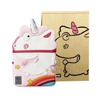 杯具熊儿童书包幼儿园3-12岁可爱卡通双肩背包 独角兽