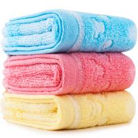 三利 超柔棉竹提花强吸水面巾 洗脸毛巾