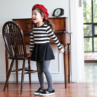 韩版童装秋冬女童打底裤袜连体袜中厚款百搭应备童袜