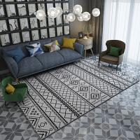 几何图案地毯北欧式现代风格简约客厅茶几地毯满铺房间卧室长方形 200C x 300C