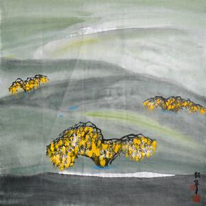 中国美协理事、湖北省美术院院长 周韶华《苍茫》
