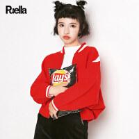 【2.5折到手价100元】【叠券满299-30】新款韩版学宽松生长袖拉链蝙蝠袖针织衫开衫短款外套女