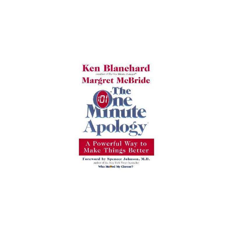 【预订】The One Minute Apology: A Powerful Way to Make 美国库房发货,通常付款后3-5周到货!