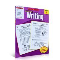 英文原版绘本 学乐能赢 Scholastic Success with Writing, Grade 4 儿童写作练习