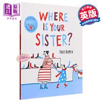 【中商原版】博洛尼亚绘本奖:姐姐在哪?Where Is Your Sister? 精品绘本 幽默绘本 观察力培养 意大利