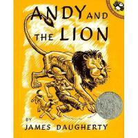 Andy and the Lion 英文原版儿童书 安迪和狮子(1939年凯迪克银奖)