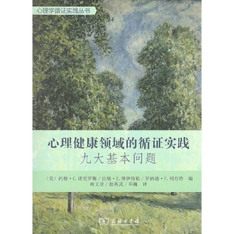 心理健康领域的循证实践:九大基本问题(心理学循证实践丛书)