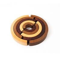 太极 大块积木玩具木制儿童玩具礼物 太极
