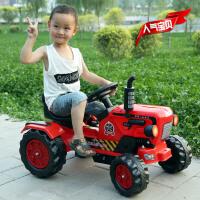 大型儿童电动玩具车拖拉机玩具车可坐人手扶拖拉机电动大号