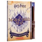 【中商原版】哈利波特:霍格沃茨活点地图指南 英文原版HarryPotter: Marauder's Map Guide