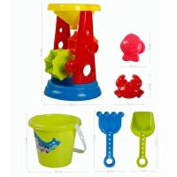 儿童沙滩玩具车套装沙漏男孩宝宝大号铲子桶玩沙子决明子工具